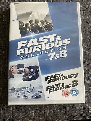 Fast And Furious Collection 7 & 8 NEW SEALED DVD