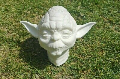 Star wars Empire Strikes Back Solid Resin Yoda Bust High Detail