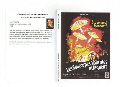 lot 2 films DVD science-fiction les soucoupes volantes attaquent, etc..