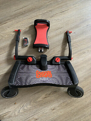 Lascal BuggyBoard Maxi+ Platform with Removable Seat - Black/Grey (LBMS-GR).