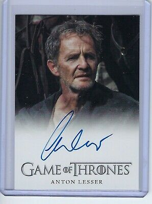 2013 Game of Thrones Anton Lesser as Qyburn Autograph Auto