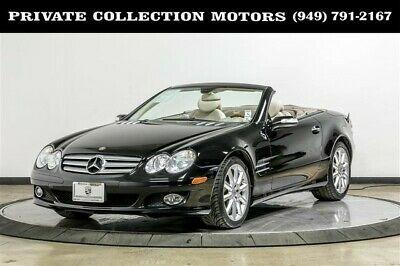 2007 Mercedes-Benz SL-Class  2007 Mercedes-Benz SL550 Just Serviced