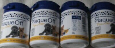 4 X Proden Plaque Off For Cats and Dogs - 60g NATURAL Gum Health Cat Dog Hygiene