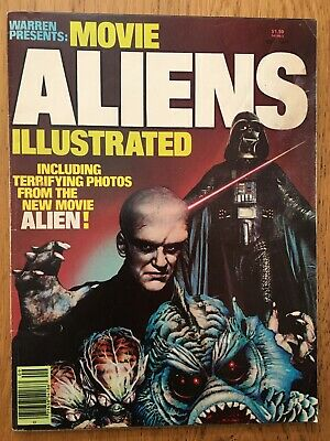Movie Aliens Illustrated Magazine 1979 Doctor Who Alien