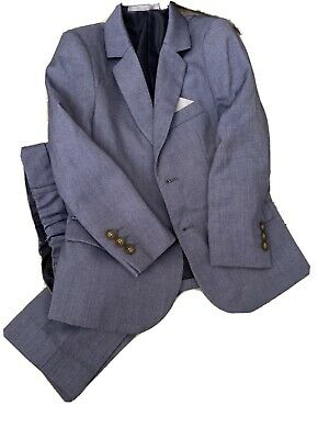 Marks And Spencer Boys Blue Suit Age 5