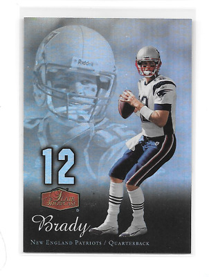 Tom Brady 2006 Flair Showcase New England Patriots Goat
