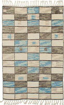 "Hand-knotted  Carpet 5'2"" x 8'0"" Mystique Transitional Wool Rug"