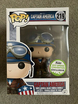 Funko Pop! Captain America The First Avenger 2017 Spring Convention Eccc