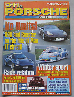 911 & Porsche World magazine February 1999 featuring Roock RST530, Boxster