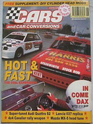 Cars & Car Conversions magazine June 1993 featuring Audi S2