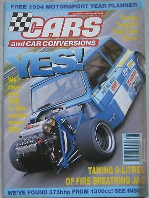 Cars & Car Conversions magazine January 1994