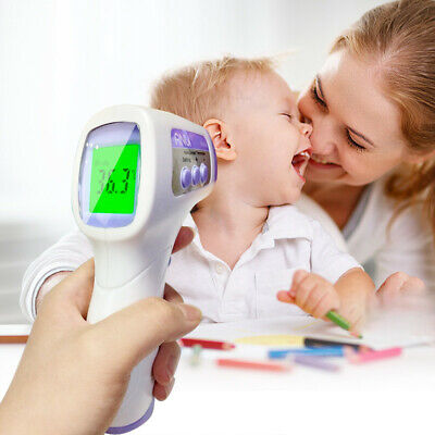 IR Infrared Digital Thermometer Non-Contact Forehead Baby/ Adult Body Termometer
