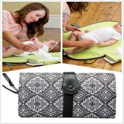 Travel Portable Foldable Mummy Bag Baby Diaper Pad Storage Non-Woven Package Bag