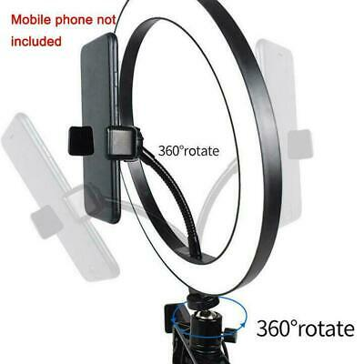 10'' LED Ring Light Lamp Selfie Camera Phone Studio Stand Tripod Dimmable G3P3