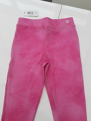 Girls New With Tags Pink Gym Running Training Leggings From Matalan Age 8-9 Yrs