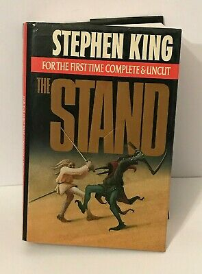 The Stand by Stephen King (1990, Hardcover) The Complete and Uncut Edition