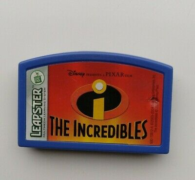 Disney Pixar The Incredibles Leapster Game