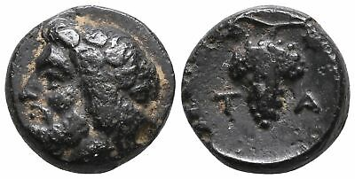 Koc Greek Coins.AIOLIS. Temnos. Bronze, 280-200 BC. 10mm. 1,45g.