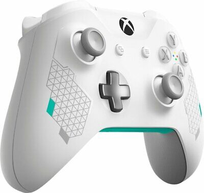 Genuine Microsoft Xbox One Wireless Controller Sport White (New Bulk Package)-2