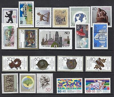 Germany, 20 Different Mnh, Cat $22.60, Lot 6-72