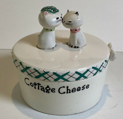 1958 Holt Howard Ceramic Cozy Kittens Cottage Cheese