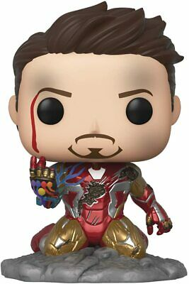 Funko Pop Avengers Endgame: I Am Iron Man Glow-in-The-Dark Deluxe Vinyl Figure
