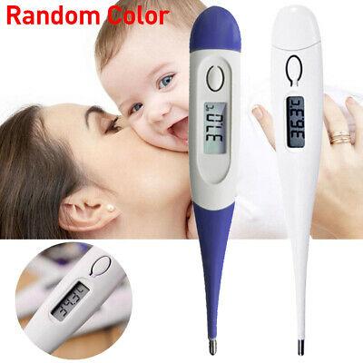 Digital LCD Thermometer Medical Baby Adult Body Kids Safe Mouth Temperature XN