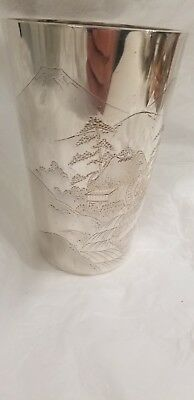 Japanese Sterling Silver Cocktail Pitcher