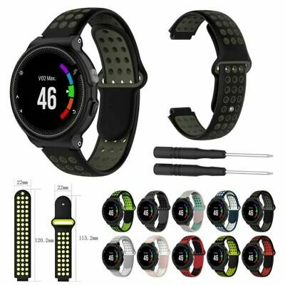 Silicone Watch Band Strap Bracelet For Garmin Forerunner 220 230 235 620 630 735