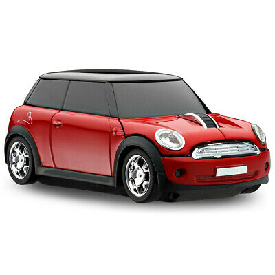 Official Motormouse BMW Mini Cooper Car Wireless Computer Mouse - Red