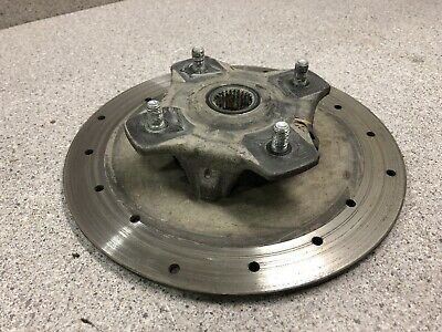 06-17 Arctic Cat Prowler 500 550 700 1000 Front Left Right Wheel Hub Rotor Disc