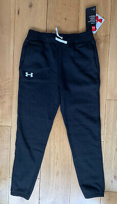 Under Armour Joggers Girls Small Black