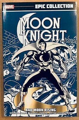 MOON KNIGHT EPIC COLLECTION Vol 1 BAD MOON RISING TPB RARE OOP VFNM WWBN 32