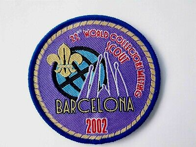 in545 INSIGNE SCOUT 2002 WORLD COLLECTORS MEETING BARCELONA  SCOUTING BADGE