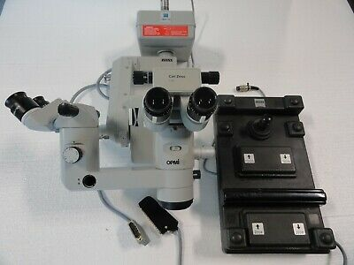 Zeiss OPMI CS Retroskop Microscope Dual Head Surgical Ophthalmology No Reserve!