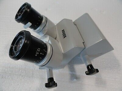 Zeiss Microscope Binoculars w Eyepieces Surgical Ophthalmology Opmi No Reserve!