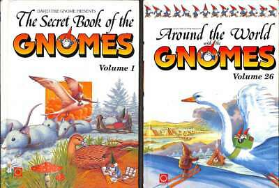 The Secret Book of the Gnomes (20 Book Set) and Around the World with the Gnomes