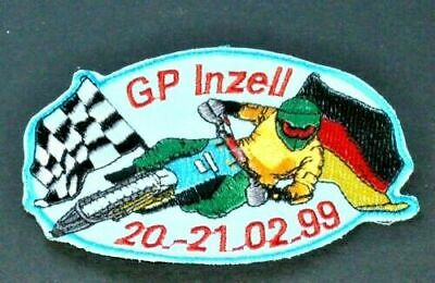 Gran Prix Inzell Germany Racer Motorcycle Racing Event Patch