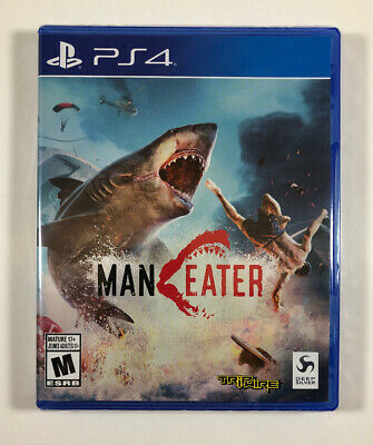 ManEater (PS4 / PlayStation 4) Man Eater - BRAND NEW - Fast Shipping