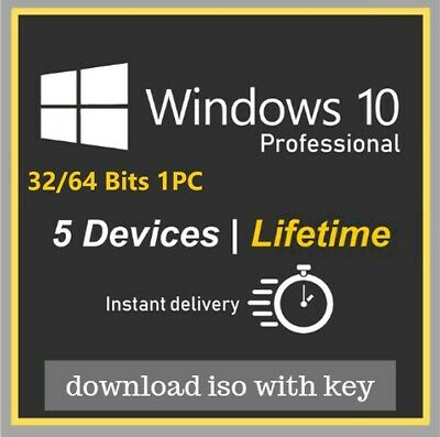 Microsoft Windows 10 Professional Product Key Full Version Instant Sent WIn 10 p