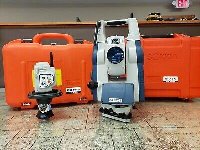 Robotic Total Station - Sokkia SRX 5X with RC-PR4 and Prism