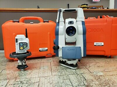 Robotic Total Station - Sokkia SRX 3X with RC-PR5 and Prism