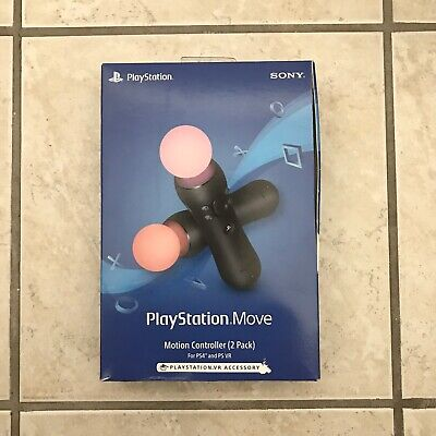 NEW Sony PlayStation Move Motion Controller 2 Pack For PS4 & PS VR