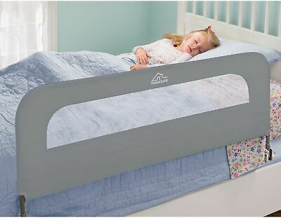 New!!Homesafe Indoor Baby Toddler Safety Guard Extra Long Folding Single Bedrail