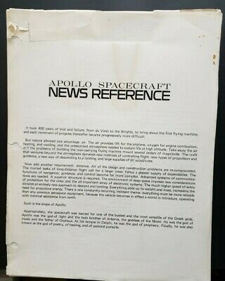 Apollo Spacecraft News Reference