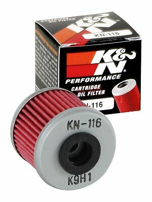 K&N KN-116 Motorcycle/Powersports High Performance Oil Filter Single