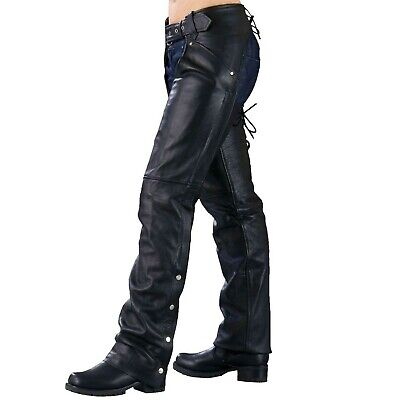 Ladies Biker Chaps with LACES ON THE BACK … (XX-Large) XX-Large