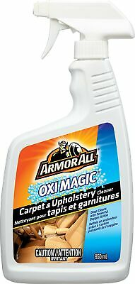 Armor All 7793B OxiMagic Carpet and Upholstery Cleaner, 650ml
