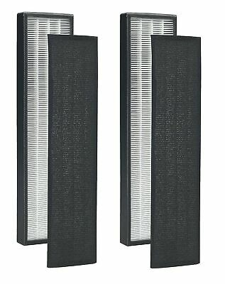Altec Filters 2 HEPA Filters & 8 Carbon Active Pre-Filters Replacement Filter...