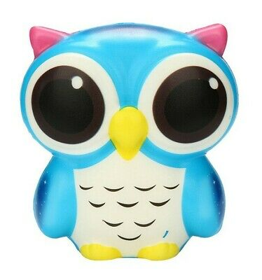 Owl _ Blue ~ Squishie -- (Great_Christmas_Gift)